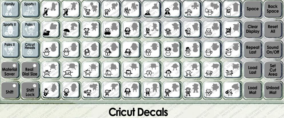 Cricut Decals Cartridge - How to make car decals with cricut expression