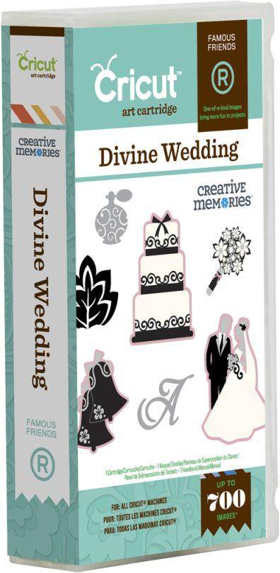 Divine Wedding Cricut Cartridge