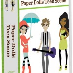 Paper Dolls Teen Scene Binder