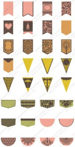 Pretty Pennants Sample Images