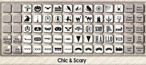 chic and scary overlay