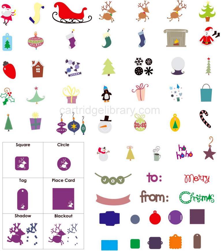 Christmas Cheer Cricut Cartridge