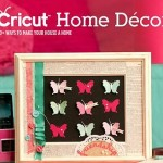 cricut home decor idea book