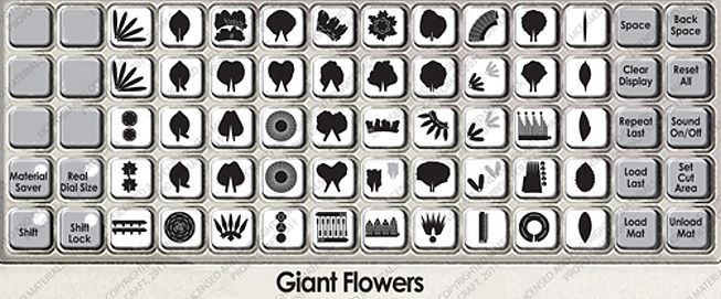 Giant Flowers Cricut Cartridge