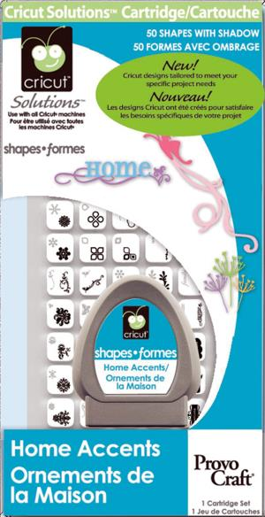Home Accents Package Cricut Cartridge