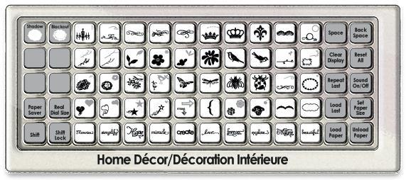 Delicieux Home Decor Cricut Cartridge