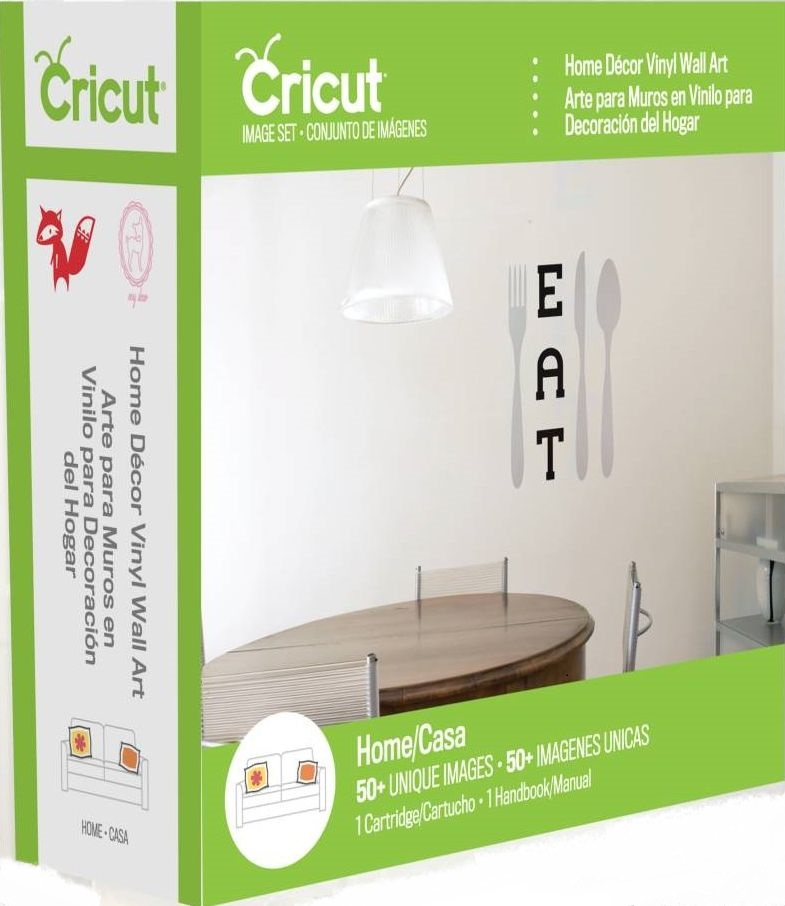 Home Decor Vinyl Wall Art Cricut Cartridge