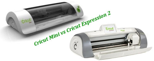 Cricut Mini vs Cricut Expression2