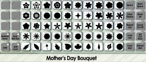 mothers day bouquet overlay