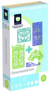 ornamental iron binder