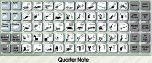 quarter note overlay