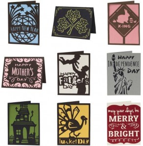 simple holiday cards large