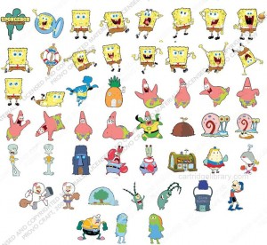 Spongebob Squarepants Shapes