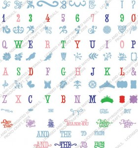 storybook images and font
