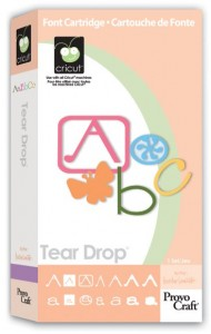 tear drop font binder