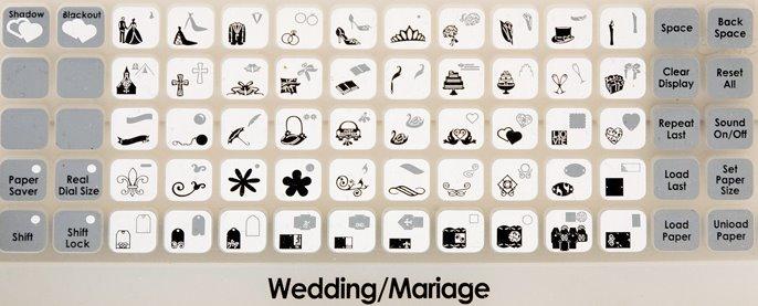 Wedding Solutions Cricut Cartridge