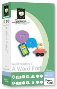 Word Builders a Word Party Binder